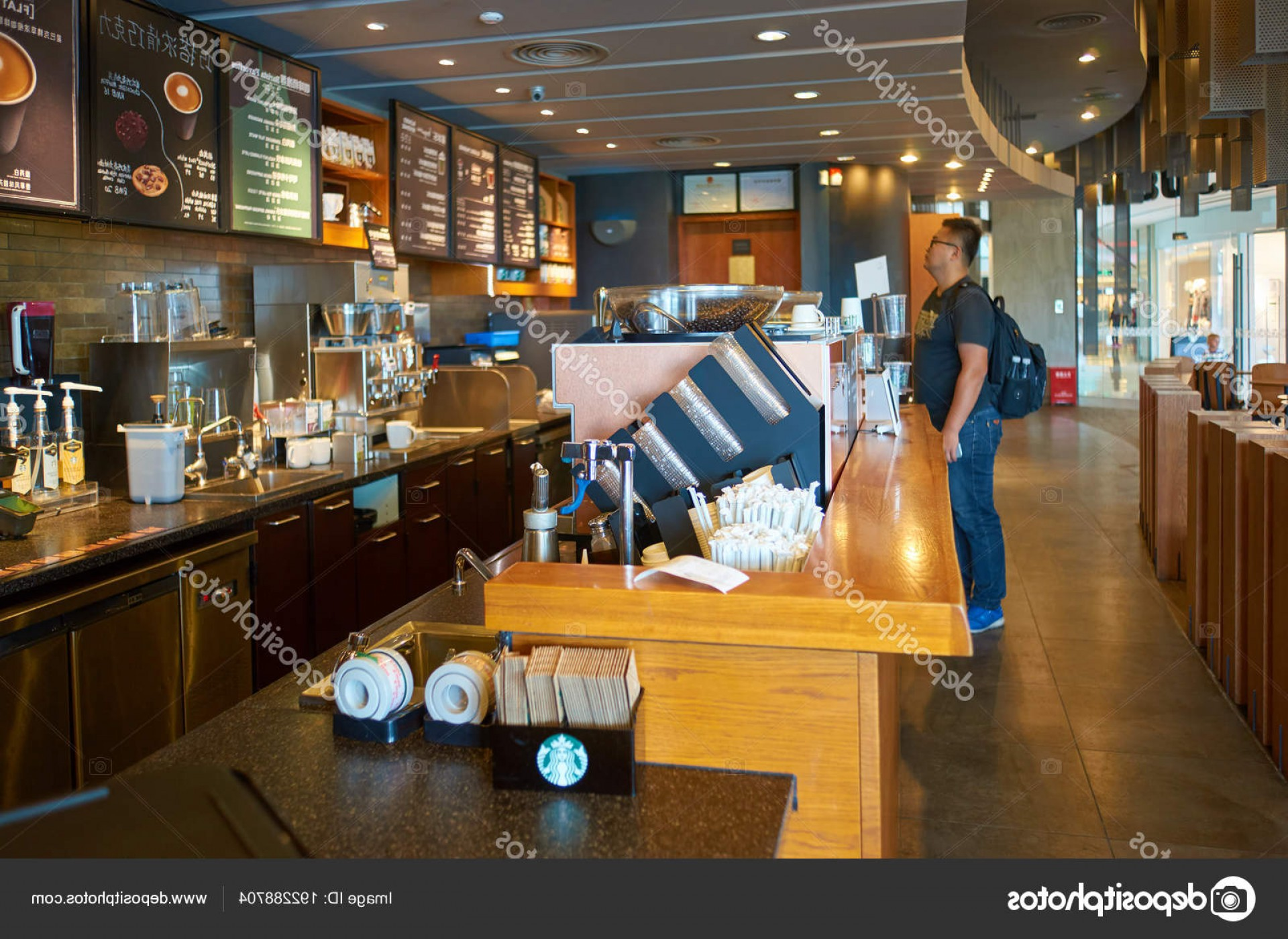 Starbucks China Vector: Stock Photo Shenzhen China Circa October