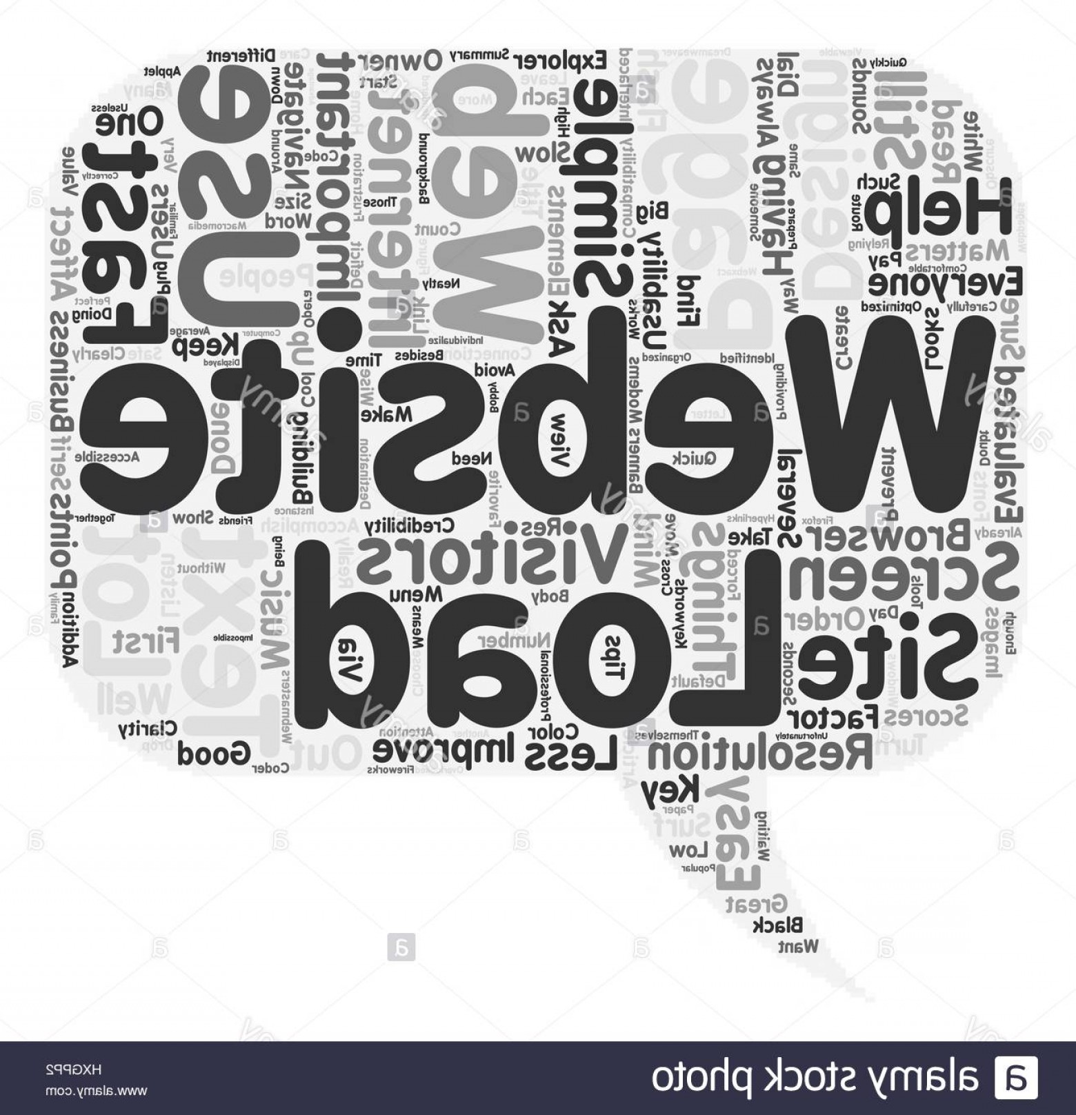 Vector Addition Applet: Stock Photo Simple Tips To Improve Your Website Design Text Background Wordcloud