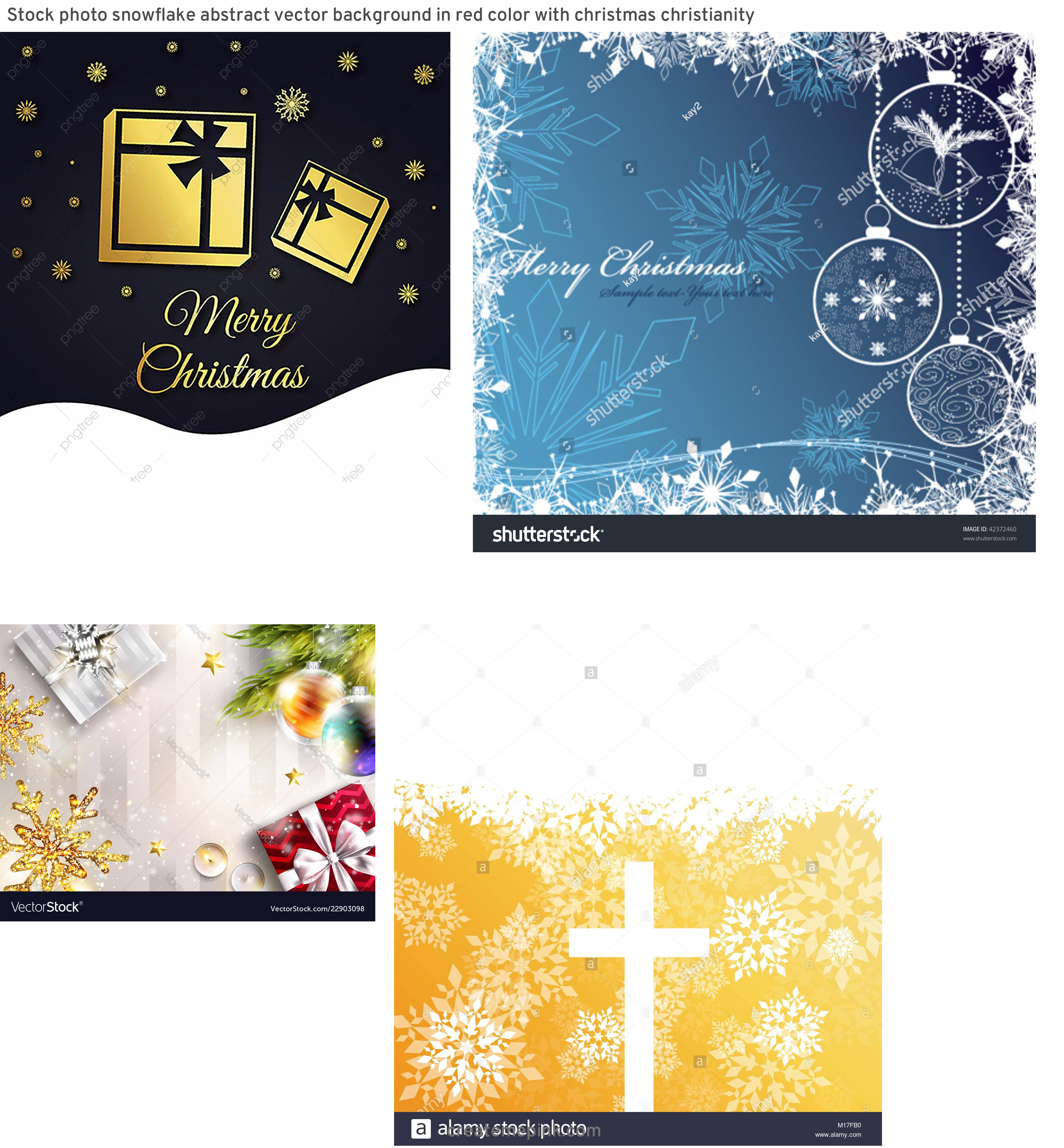 Vector Christmas Background Cross: Stock Photo Snowflake Abstract Vector Background In Red Color With Christmas Christianity