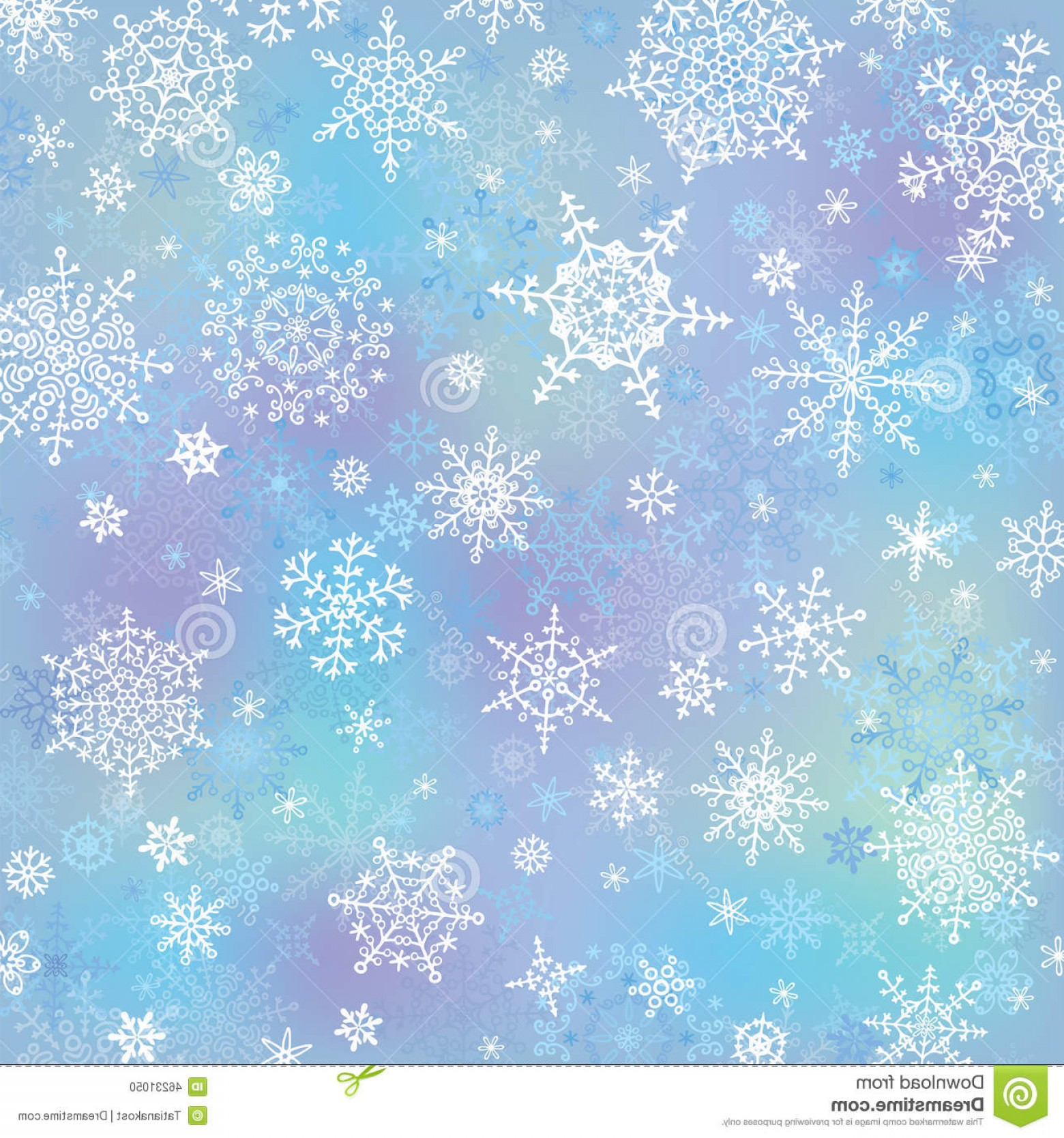 Vector Snowflake Wreath: Stock Photo Snowflake Blur Background Winter Vector Christmas Wreath Blue Backdrop Cool Colors Image