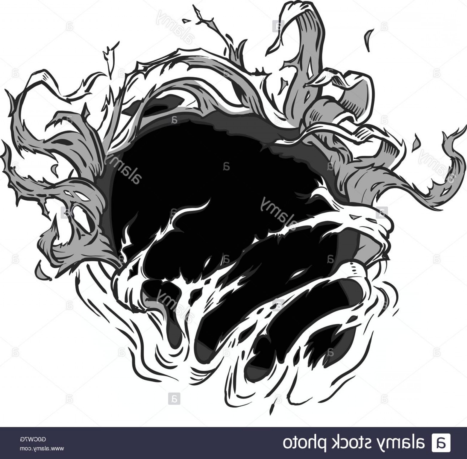 Rip Clip Art Vector: Stock Photo This Vector Clip Art Is Designed To Appear As Though Something Behind