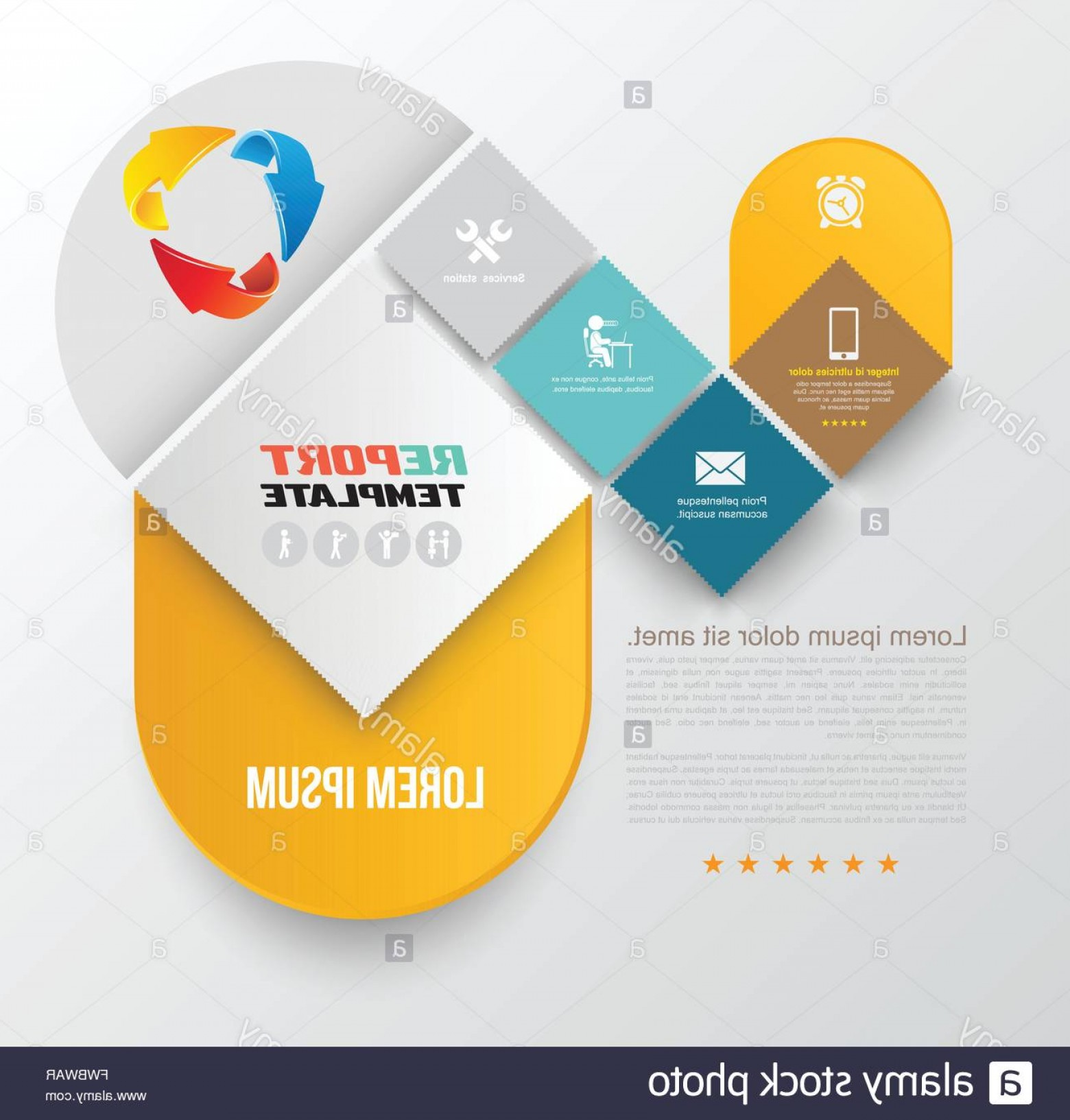 Vector Brochure Cover Designs: Stock Photo Vector Brochure Design Template Flyer Layout Magazine Cover Poster