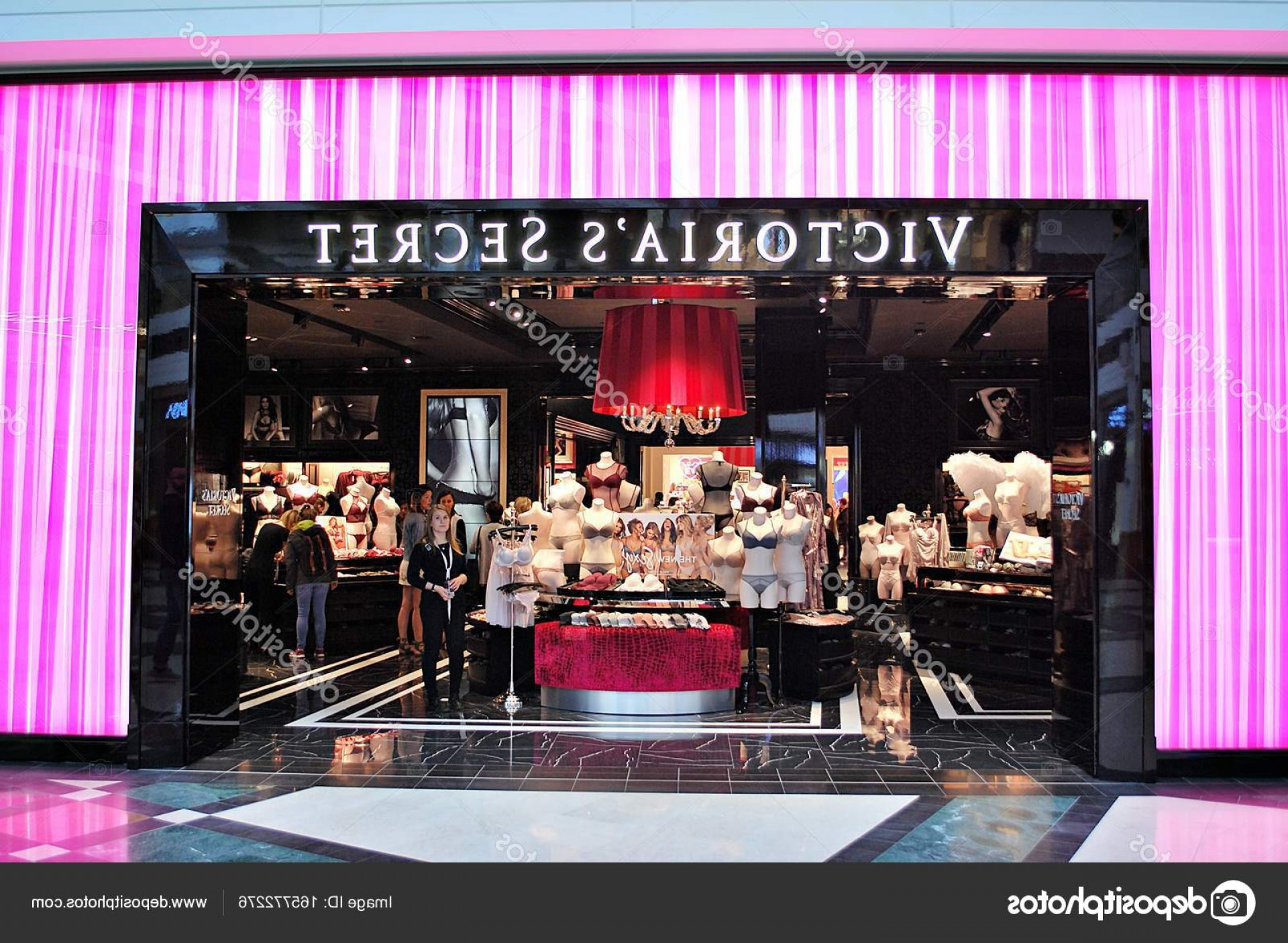 Victoria's Secret Pink Vector: Stock Photo Victorias Secret Entrance Store