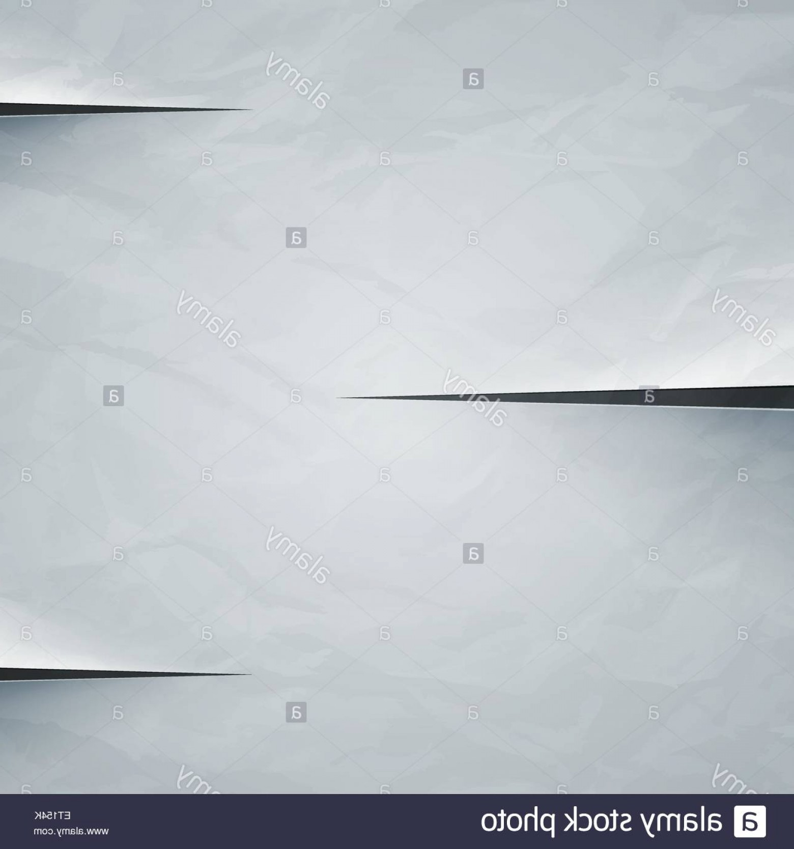 Crinkled Paper Vector: Stock Photo White Crumpled Paper Cut Background Rgb Eps Vector Illustration
