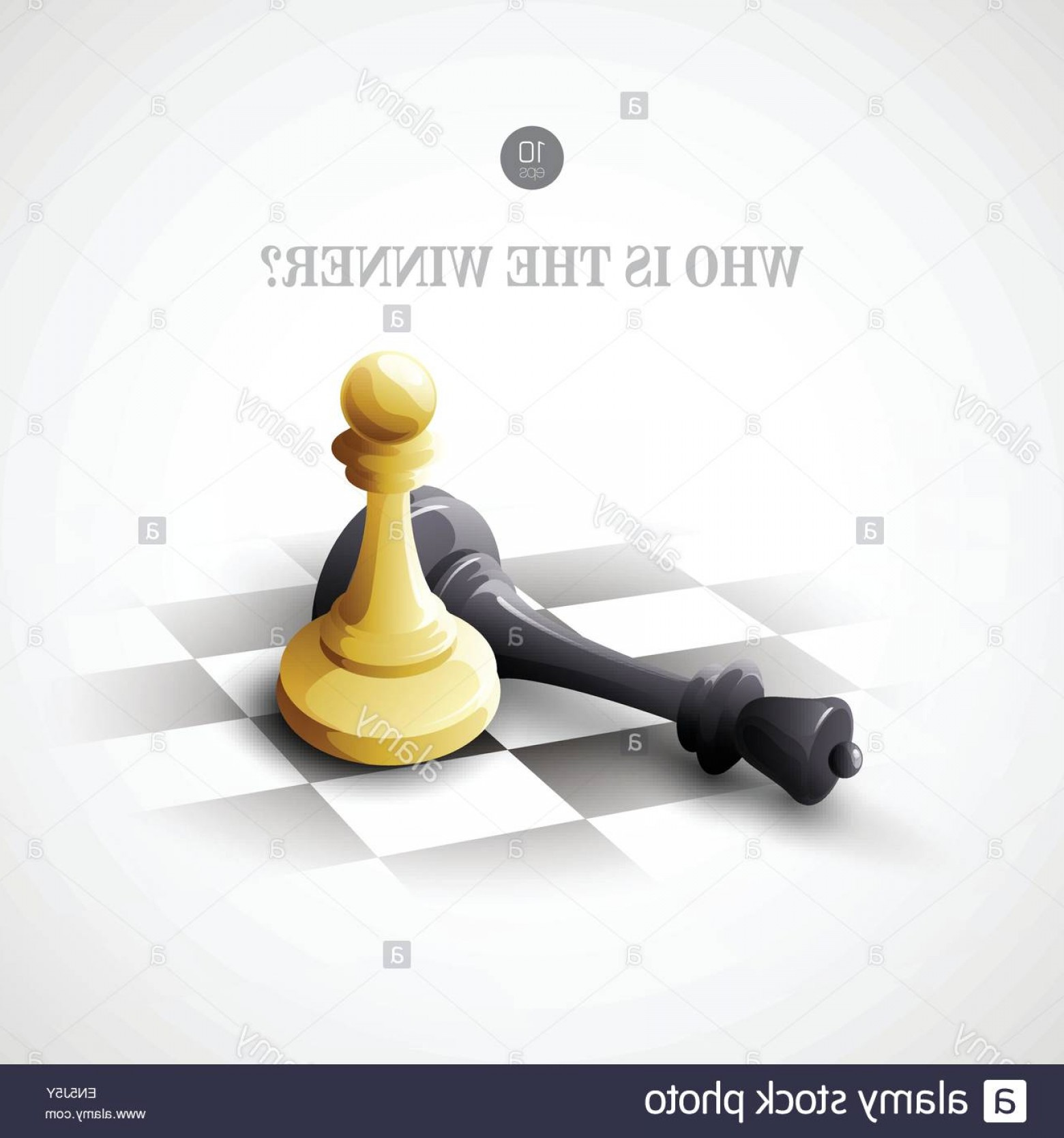 Chess Vector Background: Stock Photo Winning Chess Concept Vector Background Eps