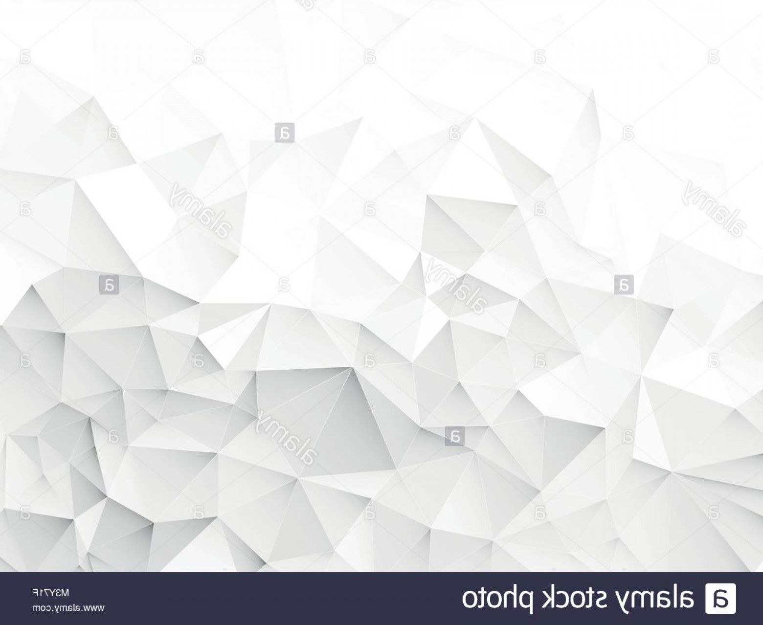 Crinkled Paper Vector: Stock Photo Wrinkled Paper Geometric White Gray Pattern