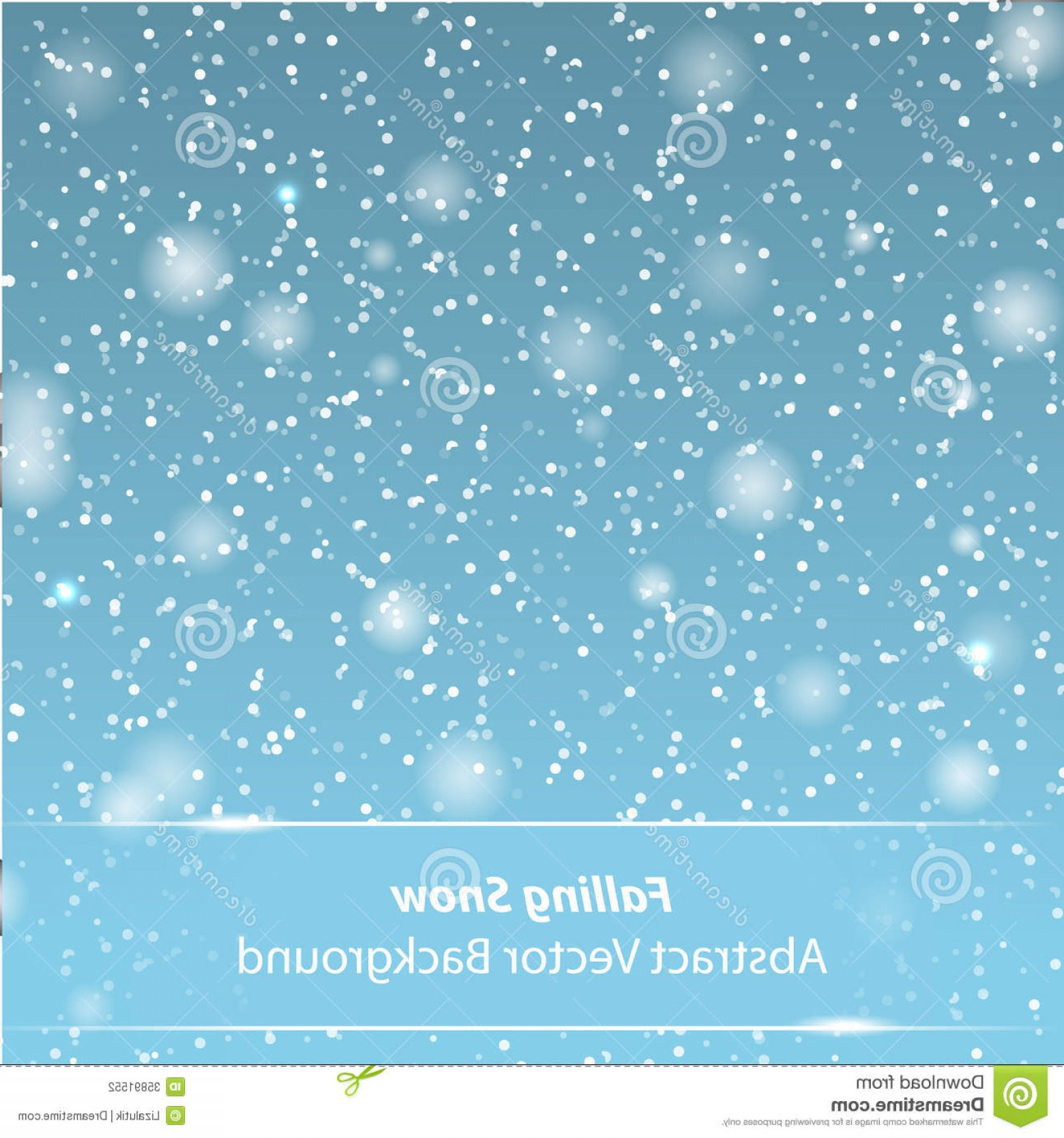 Snow Falling Vector Free: Stock Photography Falling Snow Vector Background Your Own Design Image