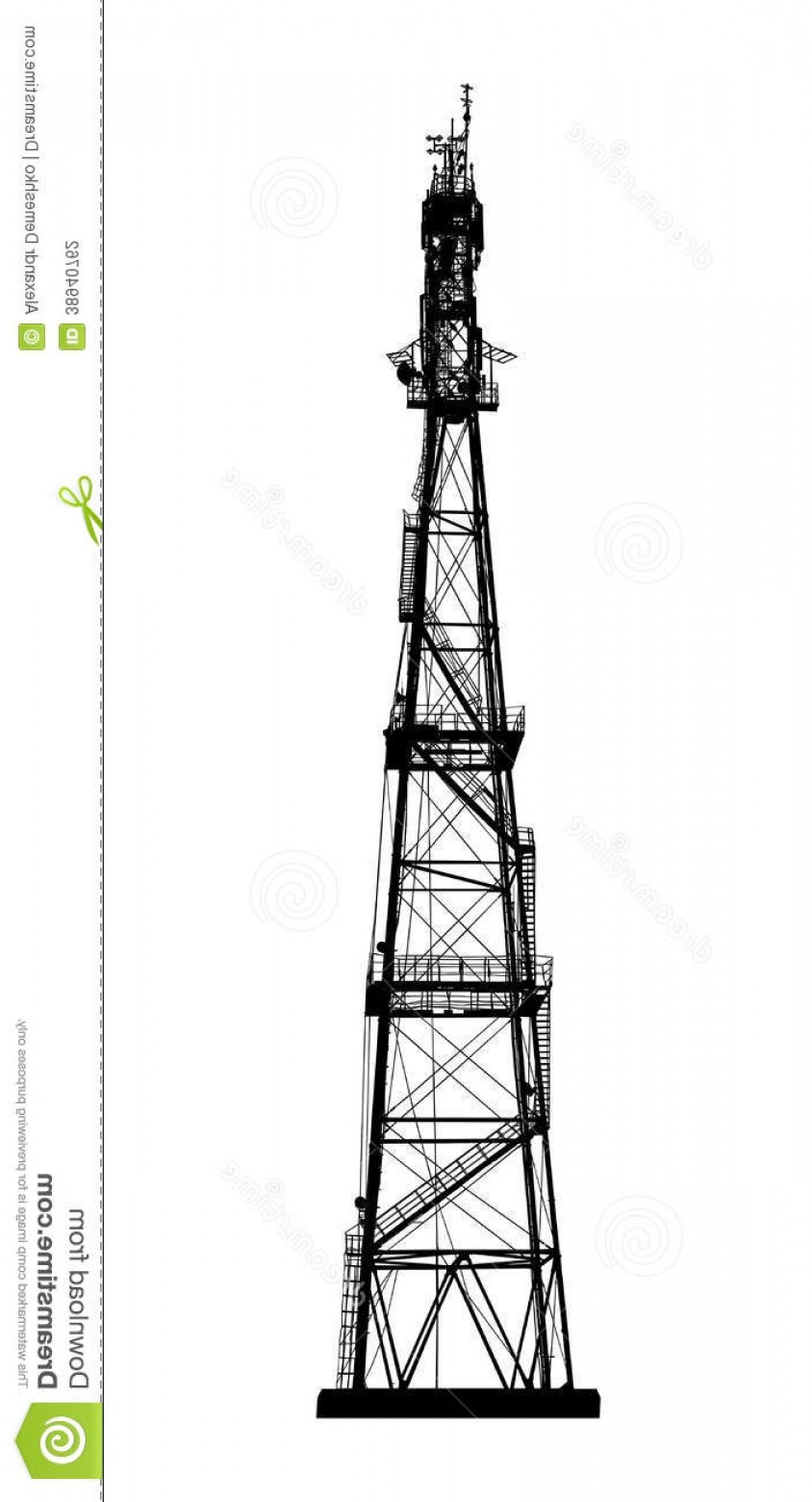 Vector Phone Tower: Stock Photography Radio Mobile Phone Base Station Telecommunications Tower Vector Eps Image