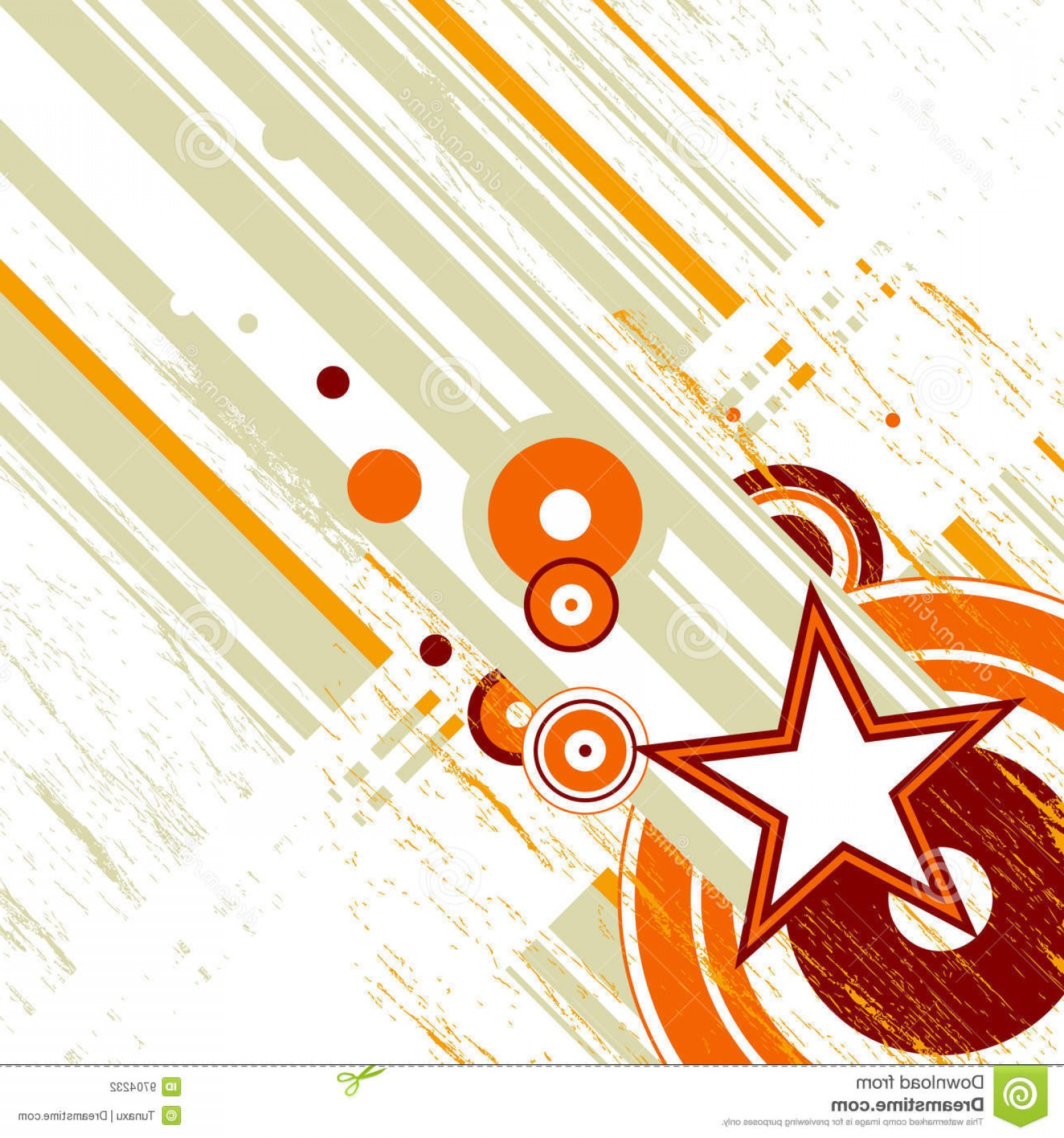 Grunge Background Vector Graphic: Stock Photography Retro Grunge Background Vector Image