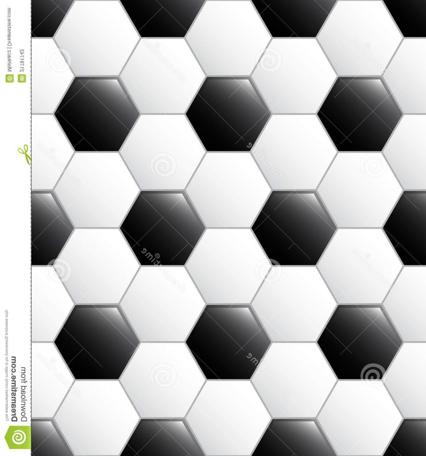Vector Soccer Ball Pattern: Stock Photography Soccer Ball Pattern Image