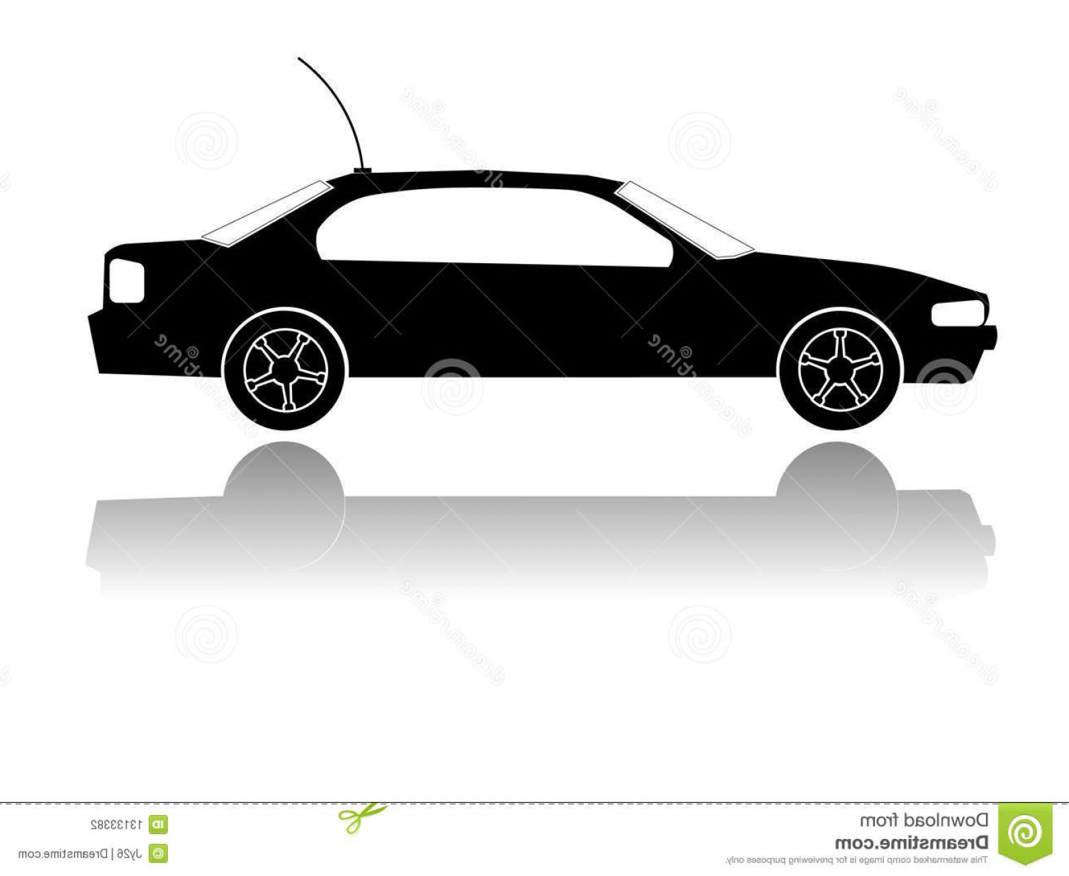 Car Vector Front Elevation: Stock Photography Vector Cars Silhouette Image