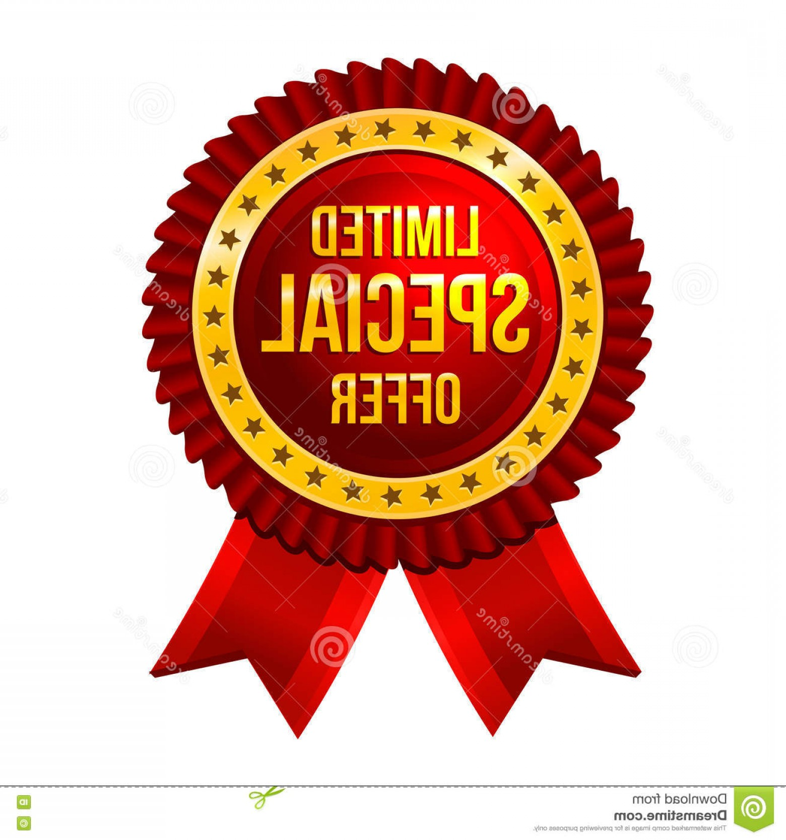 Special Offer Vector: Stock Photos Lbel Limited Special Offer Ribbons Vector Illustration Image