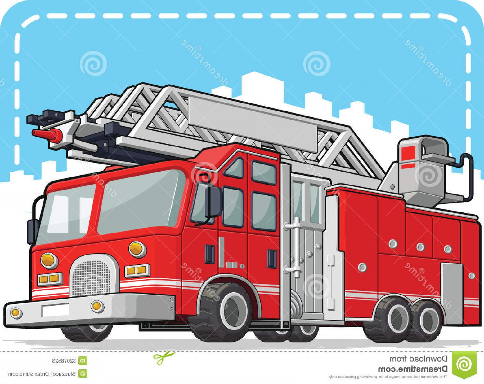 Fire Truck Vector Art: Stock Photos Red Fire Truck Fire Engine Vector Image Available As Vector Eps Format Can Be Scaled To Any Size Loss Image