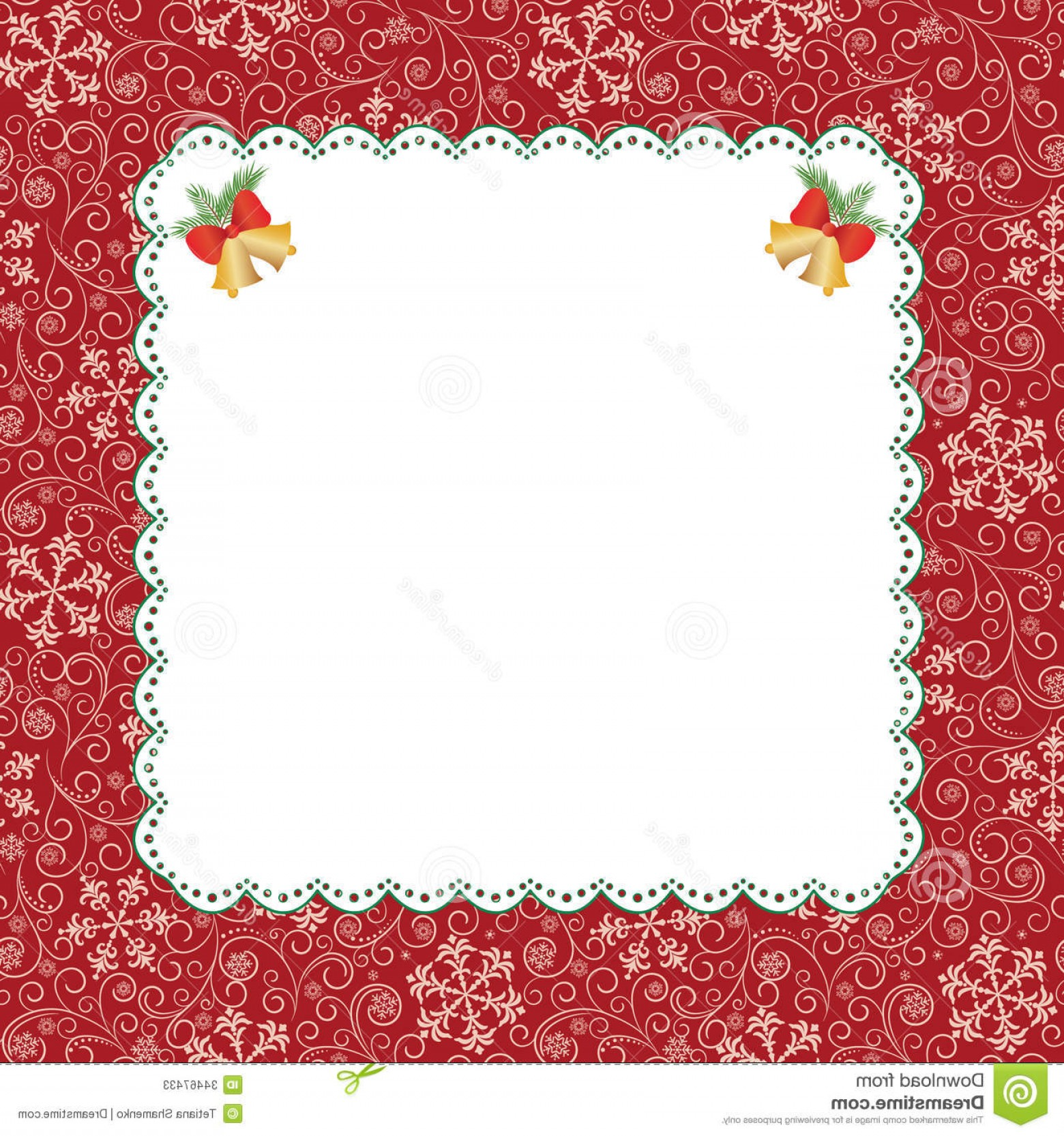 Birthday Card Vector Frame Designs: Stock Photos Template Frame Design Greeting Card Christmas Image