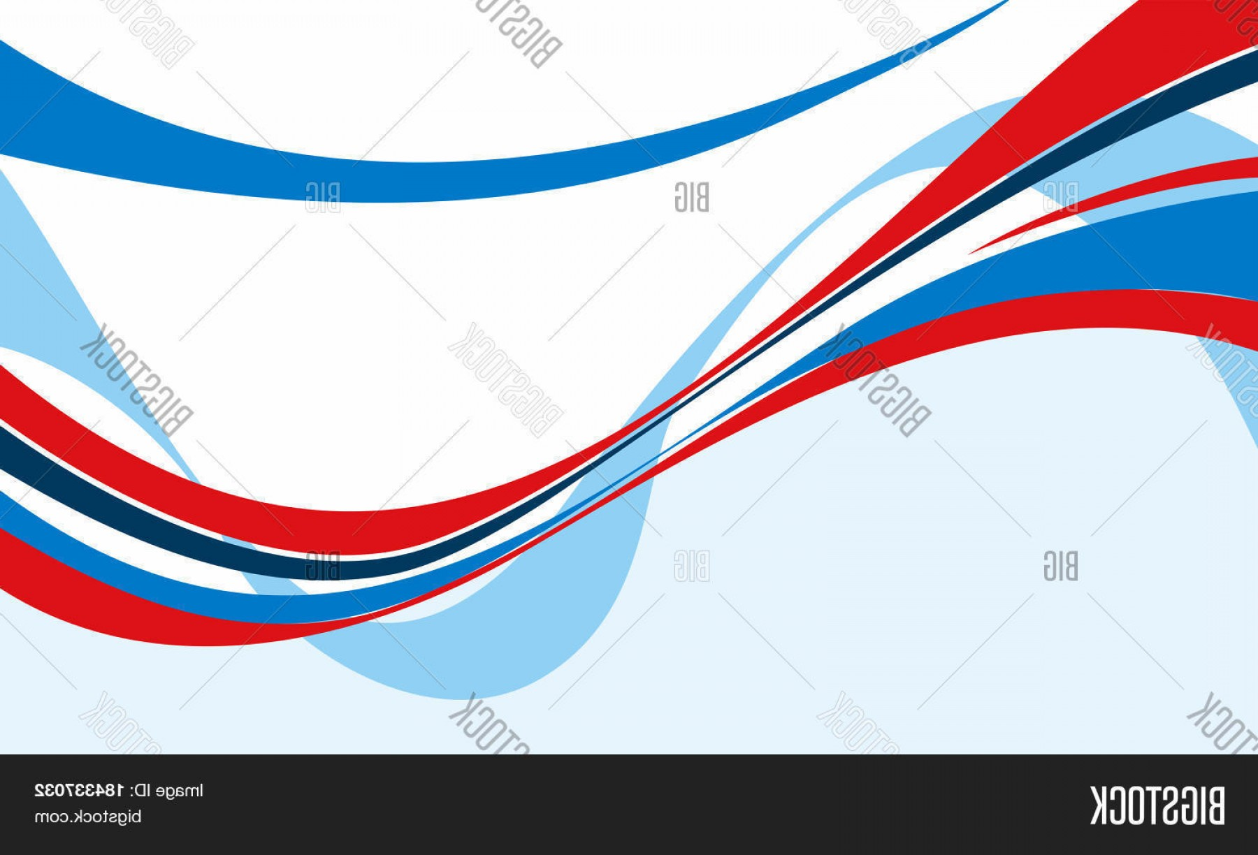Wavy Line Illustrator Vector: Stock Vector Abstract Background With Redc Blue And White Wavy Lines Vector Illustration