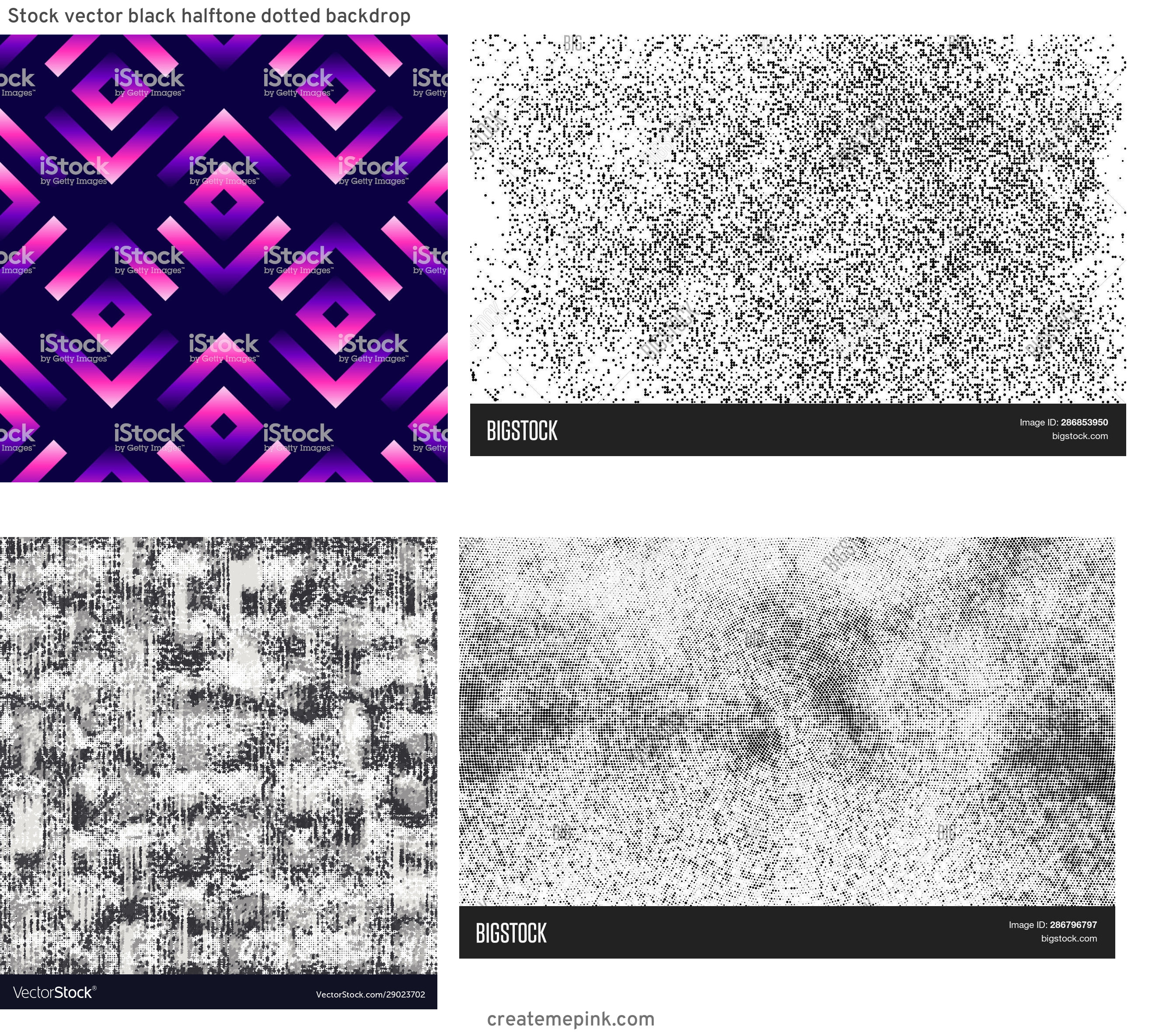 Modern Fading Vector Pattern: Stock Vector Black Halftone Dotted Backdrop