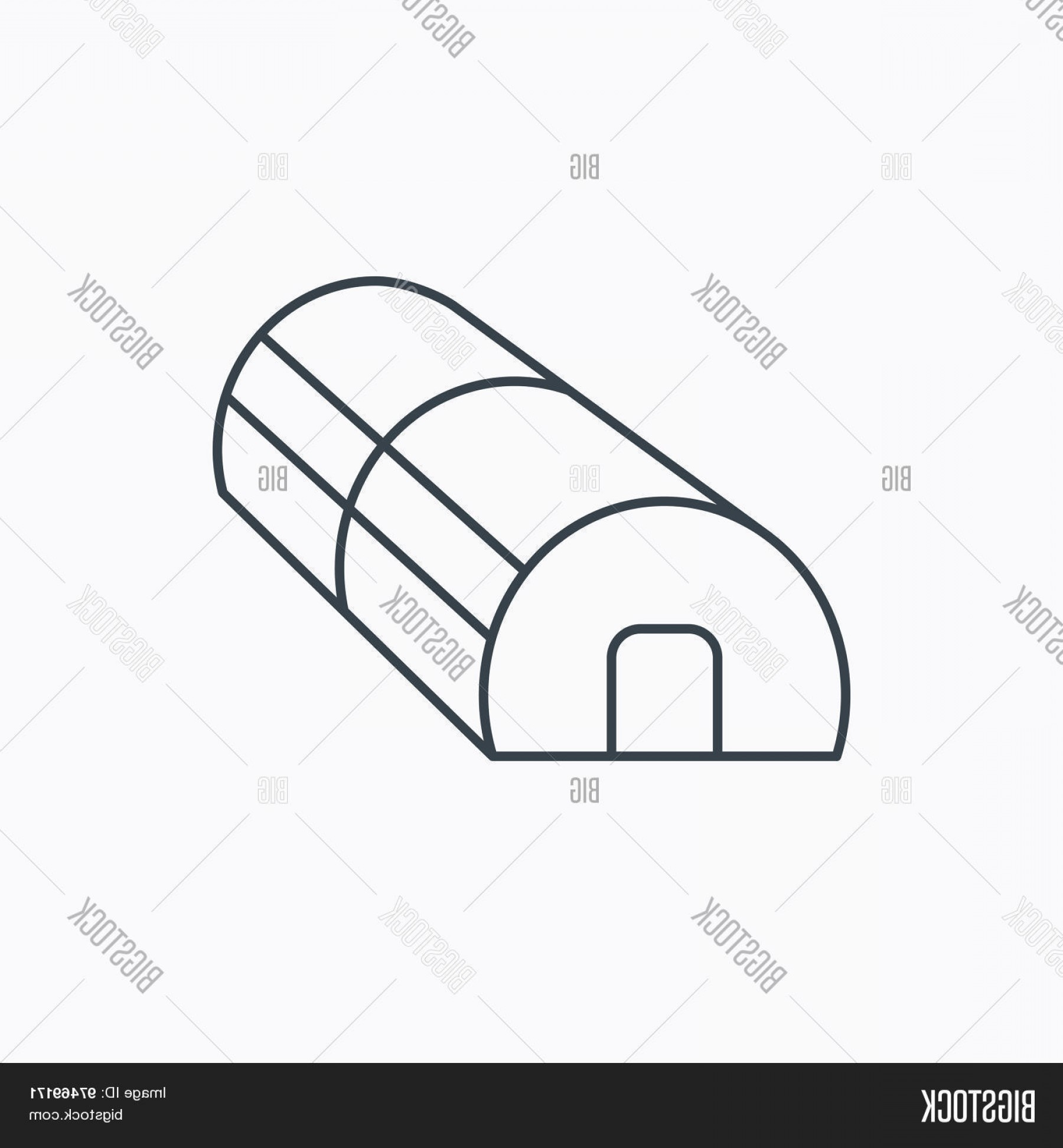 Black And White Vector Greenhouse: Stock Vector Greenhouse Complex Icon Hothouse Building Sign