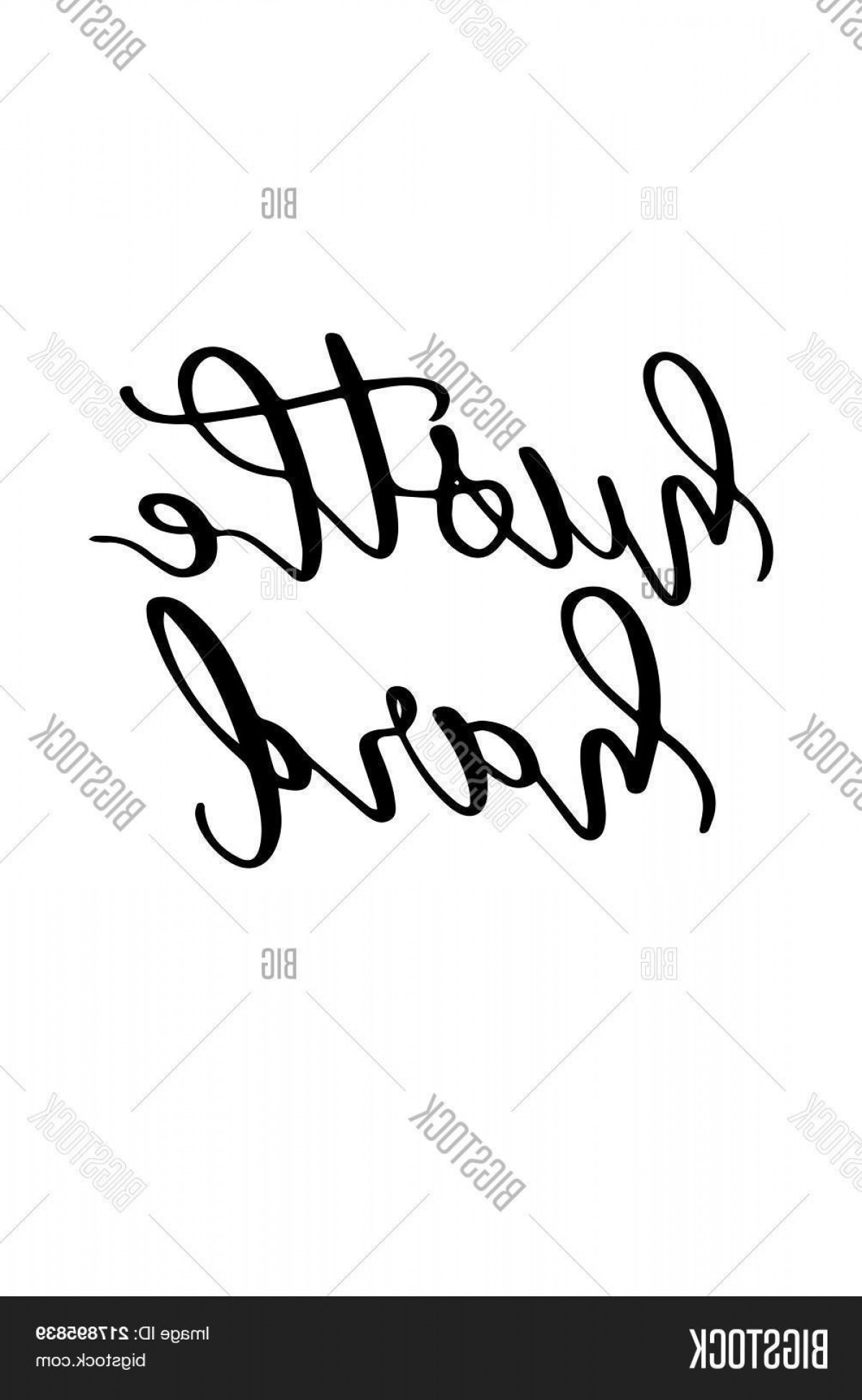Vector Hustle Hard: Stock Vector Hand Drawn Lettering Ink Illustration Modern Brush Calligraphy Isolated On White Background Hustle Hard