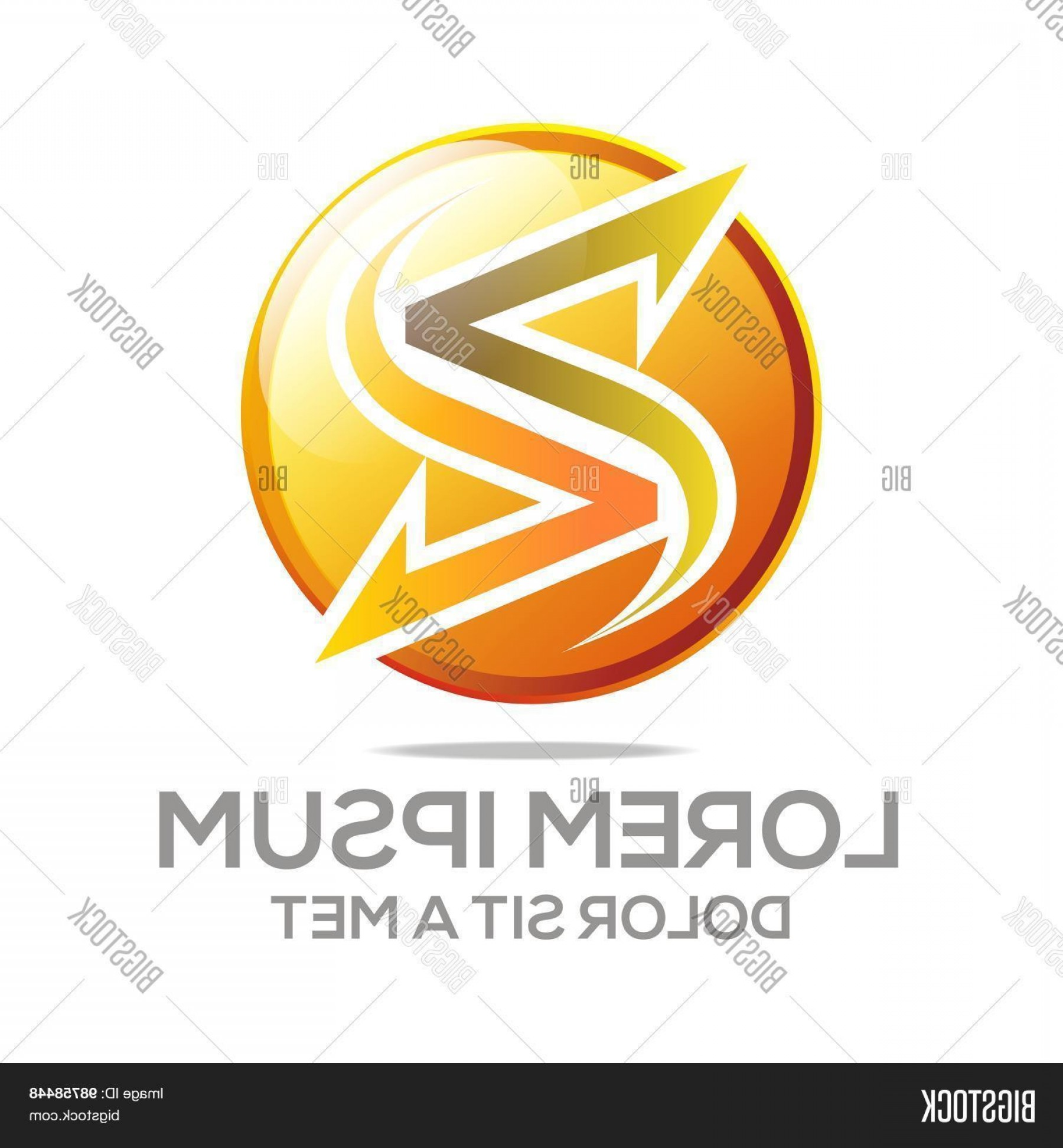 Mets Logo Vector: Stock Vector Logo Abstract Letter Symbol Element Vector