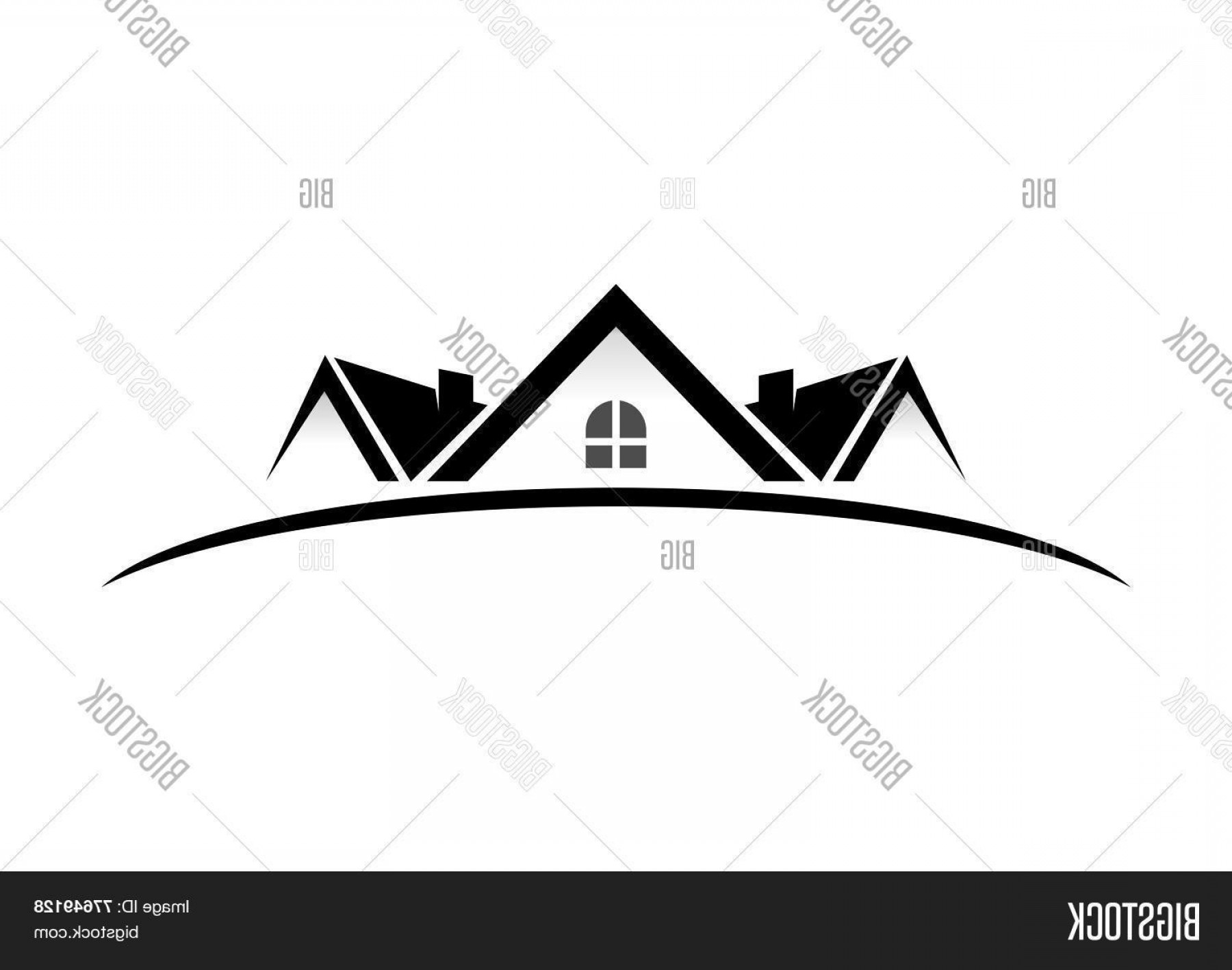 Home Logo Vector: Stock Vector Real Eatate Home Vector Logo Design