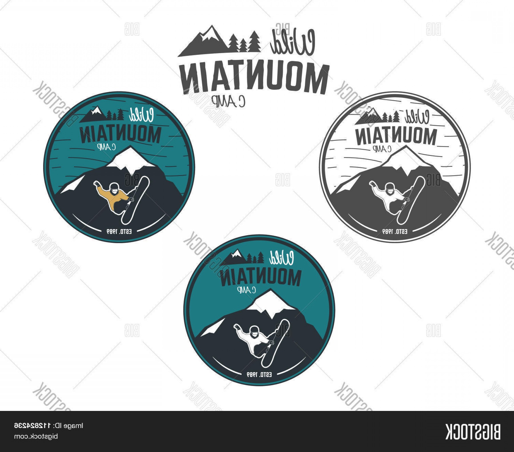 Hipster Logo Vectors Mountain: Stock Vector Set Of Mountain Winter Camp Vintage Explorer Labels Outdoor Adventure Logo Design Travel Hand Draw