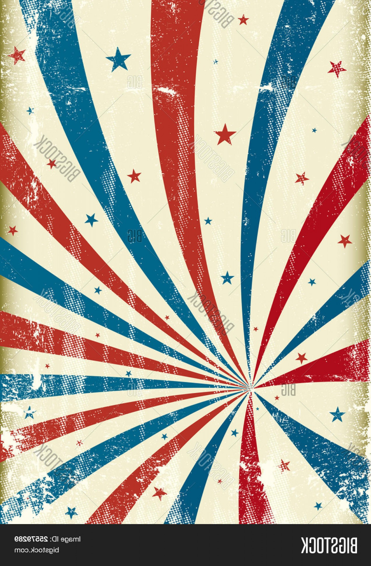Circus Background Vector: Stock Vector Tricolor Grunge Circus Background A Patriotic Circus Background For A Poster