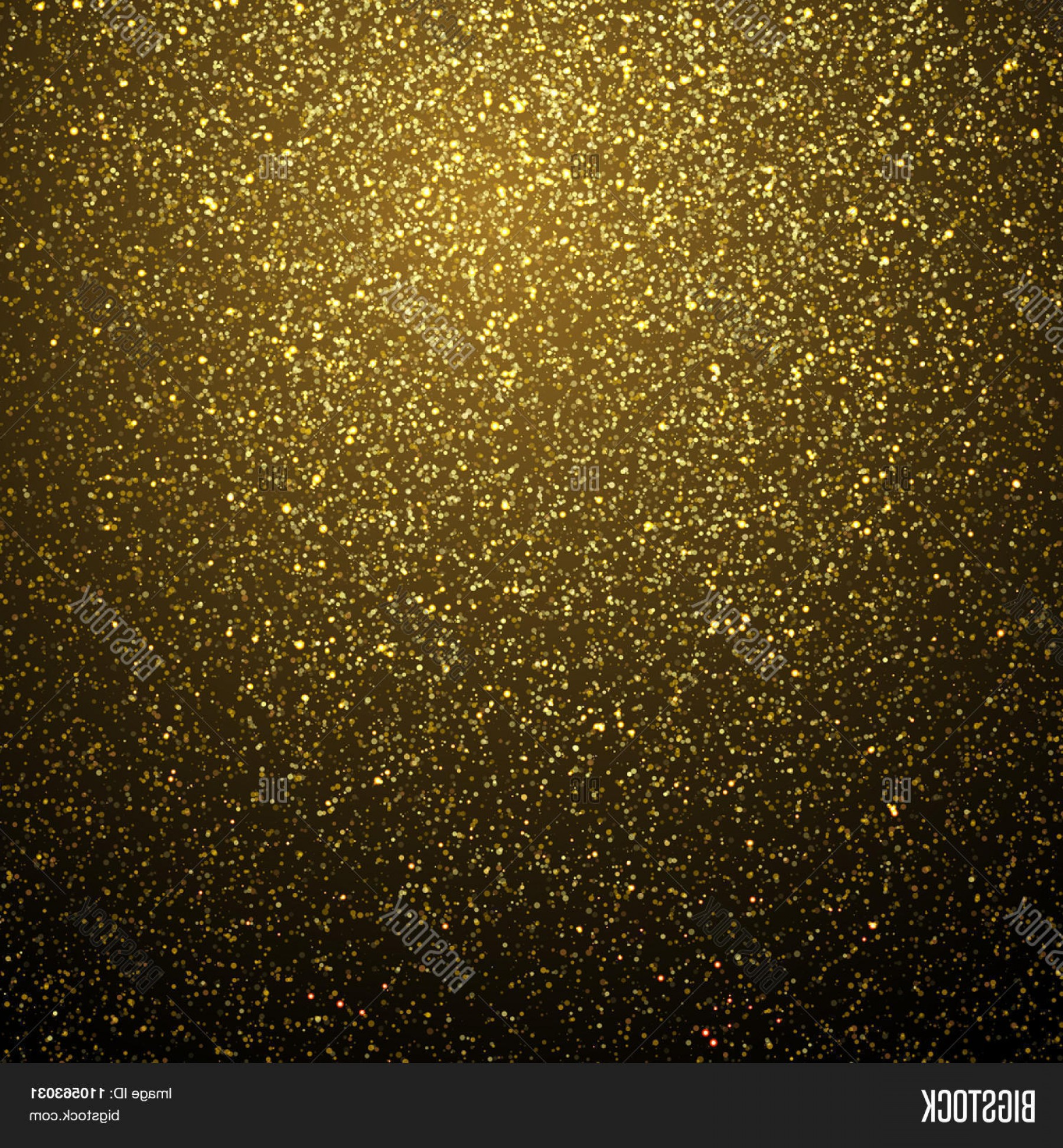 Vector Gold Dust: Stock Vector Vector Gold Glitter Dust Texture Twinkling Glitter Abstract Glittering Wave