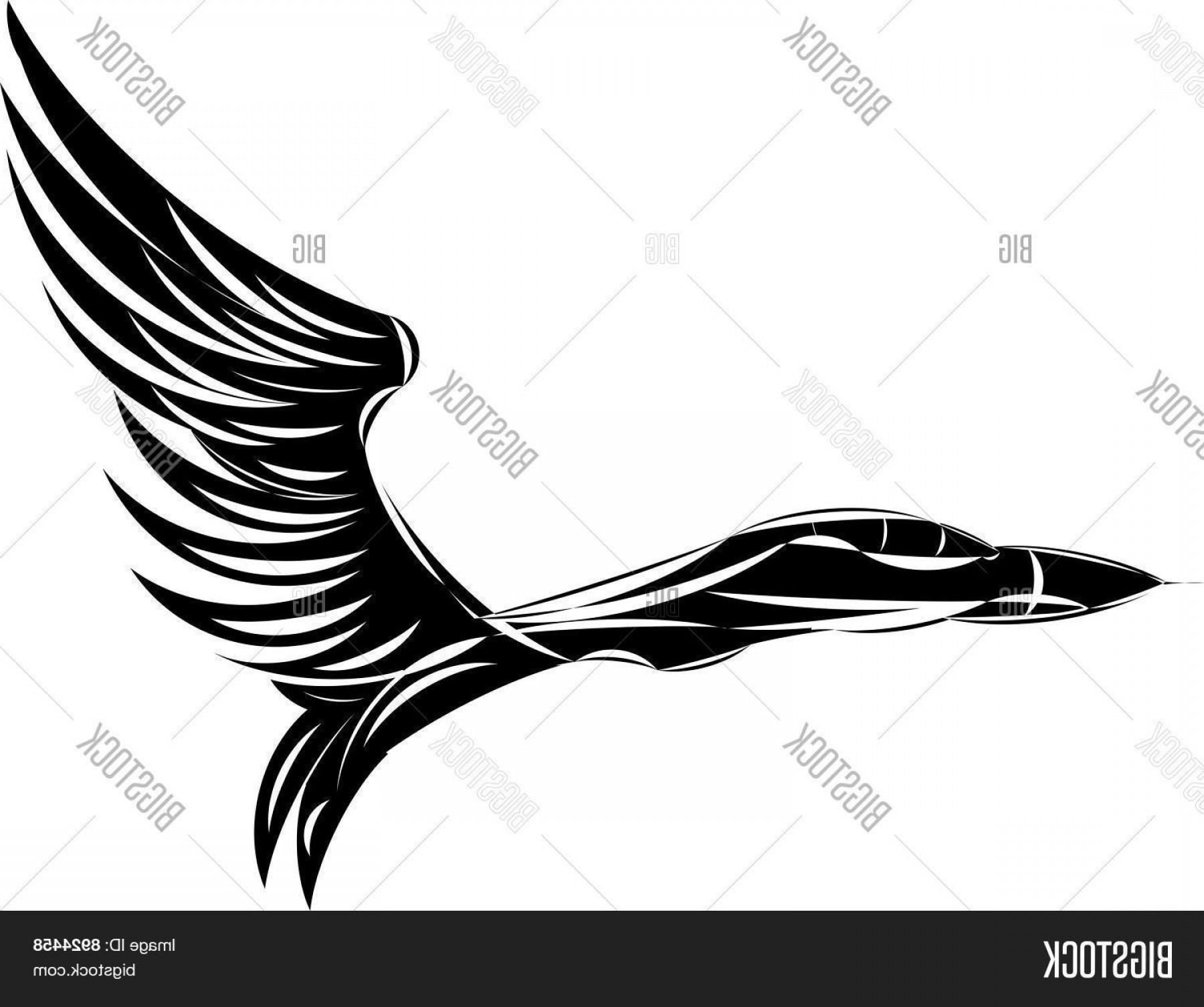 Vector Jet Fighter: Stock Vector Vector Sketch Of Jet Fighter With Eagle Wings