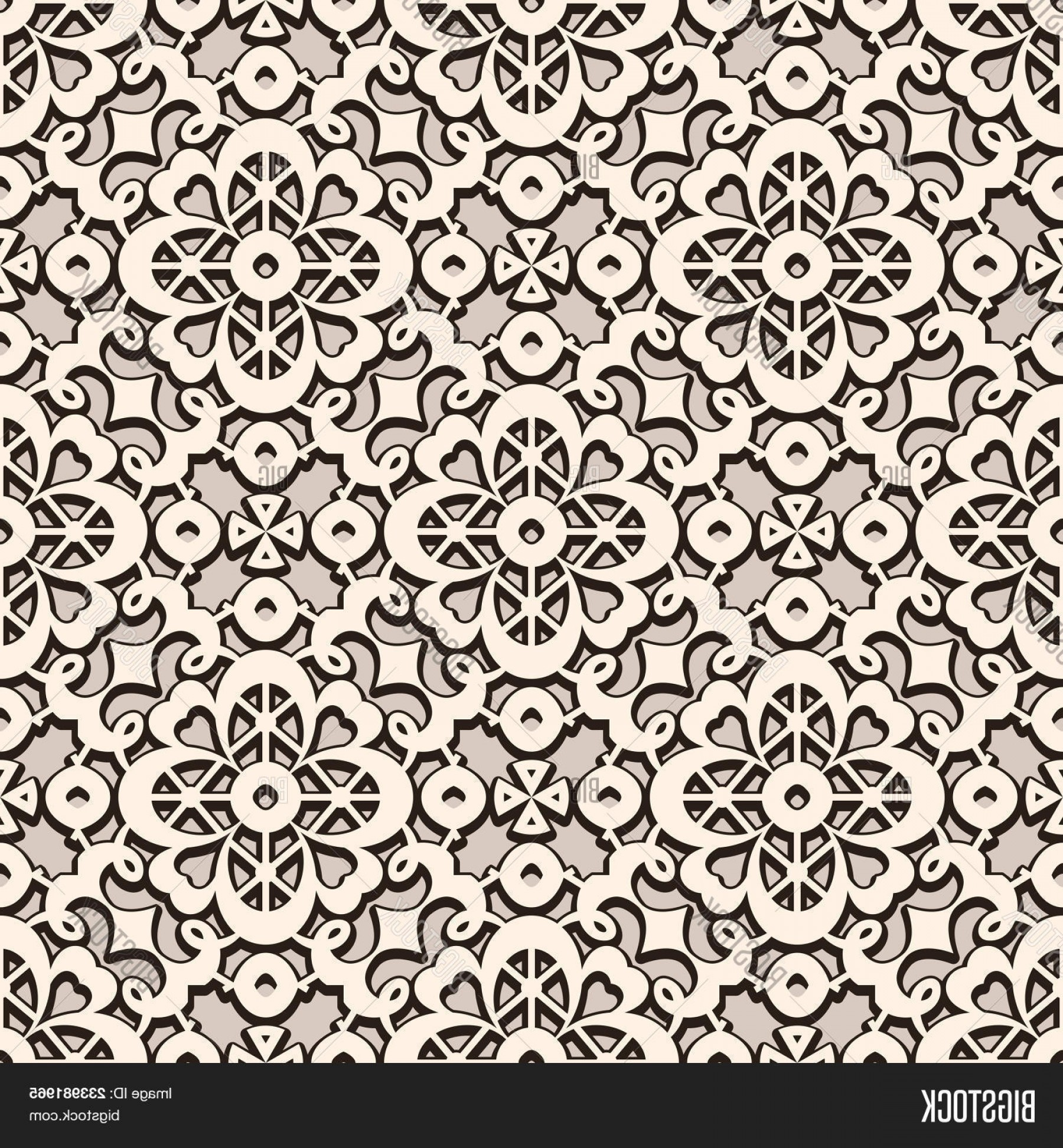 Tulle Black Lace Pattern Vector: Stock Vector Vintage Lace Ornamentc Elegant Tulle Texturec Vector Seamless Pattern