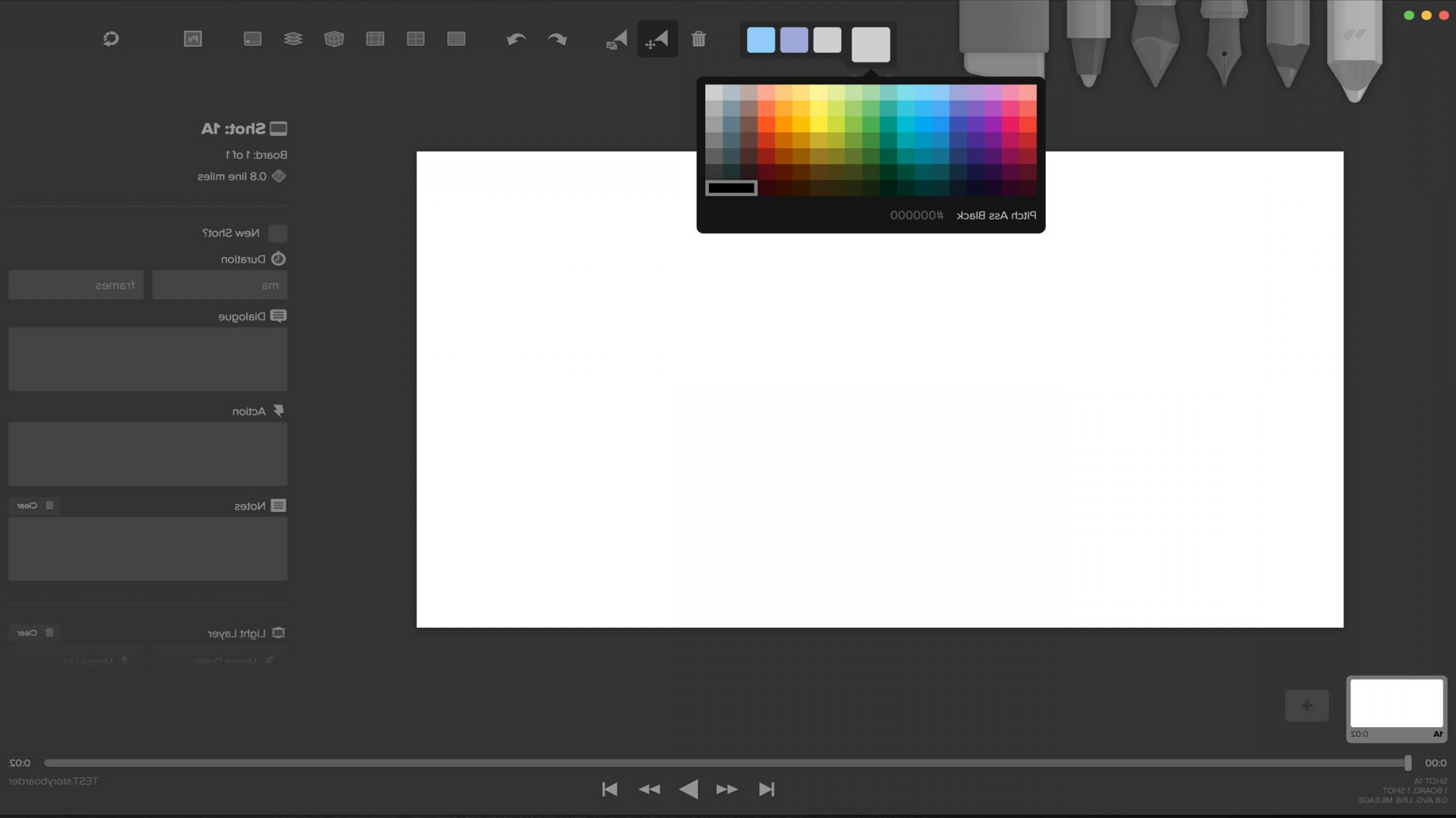 Vector Drawing App Windows 8: Storyboard For Free Wonder Unit Storyboarder App Review