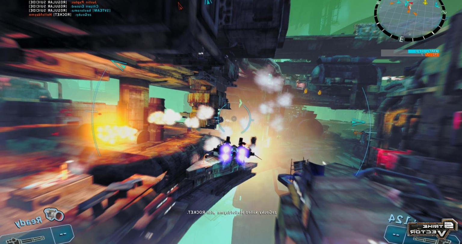Strike Vector PC: Strike Vector Ex Trailer Shows New Console Additions