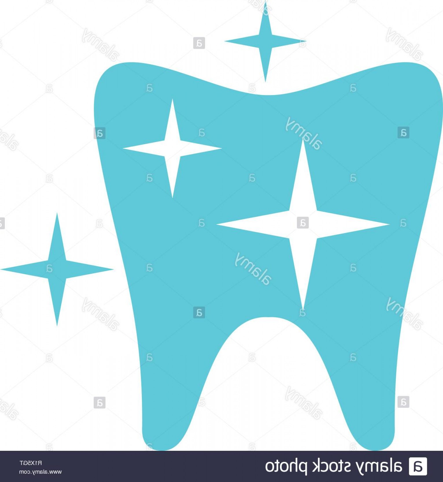 Tooth Vector Logo: Strong Tooth Logo Icon Flat Illustration Of Strong Tooth Vector Icon For Web Image