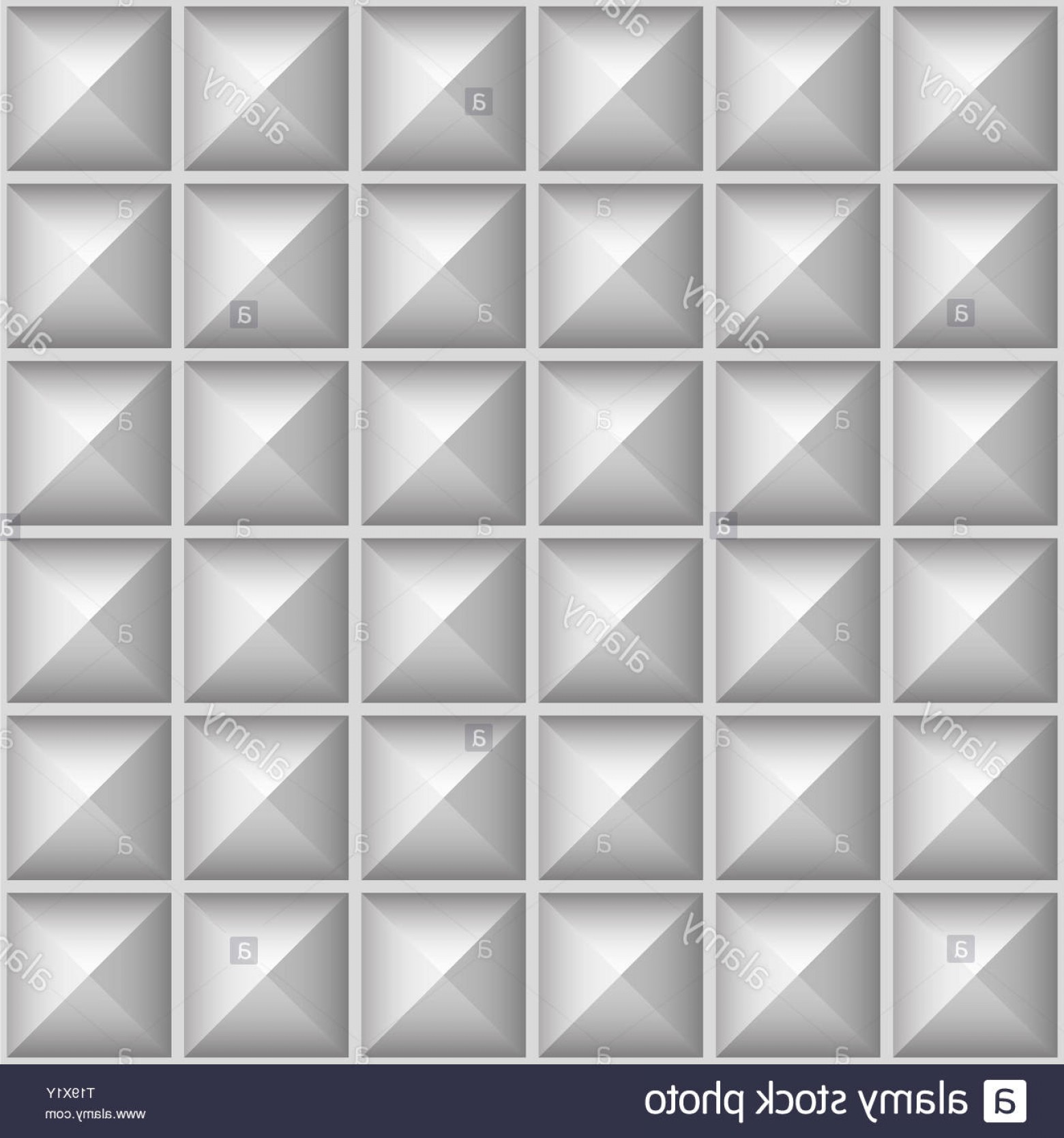 Pyramid Stud Vector: Studded Pointed Background Seamless Pattern Vector Image