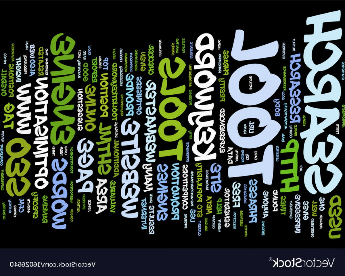 Tools For Text Vector: Stylish Free Online Seo Tools Text Background Word Cloud Vector