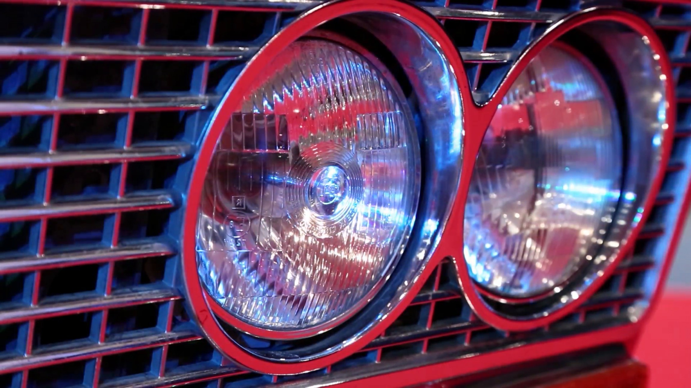 Vector Round Headlight: Stylish Round Headlights Of A Retro Car Vdljiigtgijvvpwou