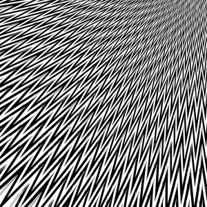 Black Abstract Lines Vector: Seamless Abstract Vector Fabric Pattern With Wave Lines Gm