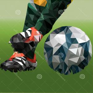 Abstract Football Vector Outline: Abstract Chinese Outline Bell Graphic Vector