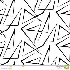 Black Abstract Lines Vector: Abstract Lines Pattern Design Background In Black And White Gm