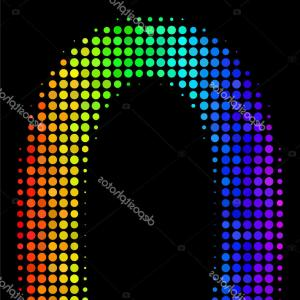 Null Vector Lighting: Abstract Coloring Background Dark Gradient Visual