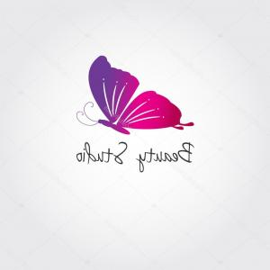 Butterfly Vector Logo: Stock Illustration Butterfly Vector Design Concept For