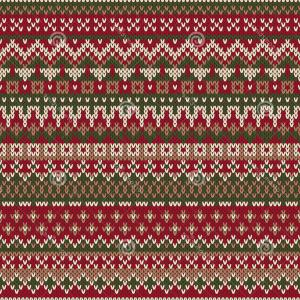 Christmas Sweater Design Vector: Stock Illustration Christmas Sweater Design Seamless Knitted Pattern Traditiona Ornament Wool Texture Eps Available Image
