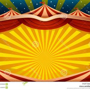 Circus Background Vector: Circus Icon Seamless Pattern On Green Background Vector Clipart