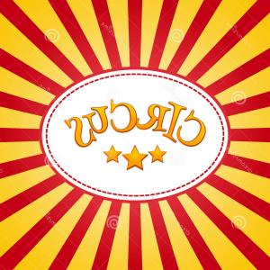 Circus Background Vector: Free Vector Old Circus Poster Background Vector