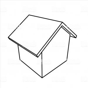 Vector 3D Shed: Stock Illustration D Isometric Houses