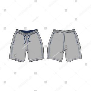 Shorts Vector Template: Stock Illustration Design Vector Template Shorts Collection