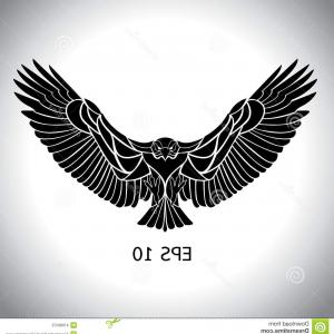 Eagle Vector Tattoo: Stock Illustration Eagle Vector Flying Eps Image