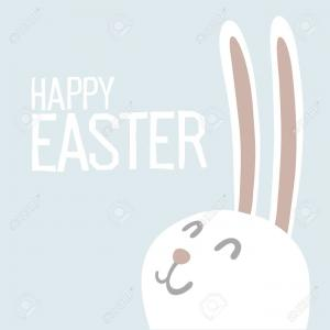 Easter Bunny Ears Vector: Stock Illustration Easter Bunny Ears Stickers Collection