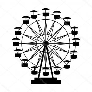 Attraction Icon Vector: Attraction Wheel Icon Cartoon Illustration Of Attraction Wheel Vector Icon For Web Design Rnlimalnxjjhocm