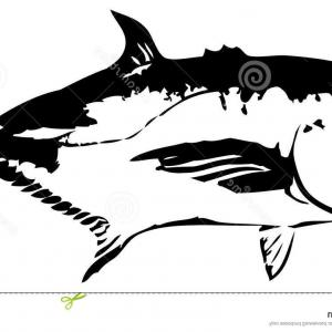 Fish Vector Graphic: Giant Trevally Fish Vector Graphics Your Logo Graphic Design Image