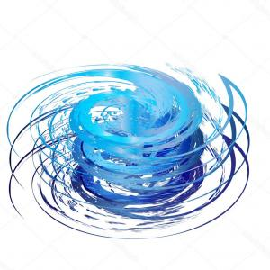 Hurricane Vector Art: Crazy Yummy Junk Food Swirl Mad Calories Hurricane Vector Illustration Gm